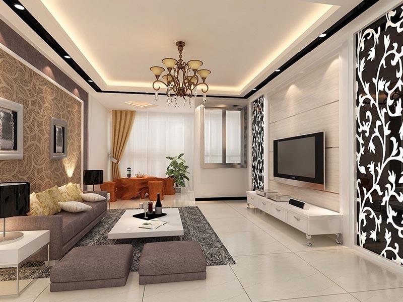 Дизайн гостиной комнаты модерн