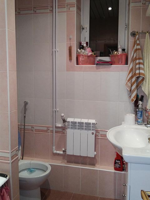 Монтаж раковины и туалета в Гомеле